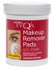 Andrea Eye Q's Oil Free Makeup Remover Pads