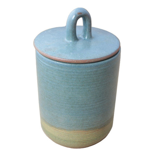 Cafe Earthenware Coffee Canister with Lid