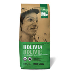 Level Ground Organic Bolivia Medium Roast Coffee - Whole Bean 1lb