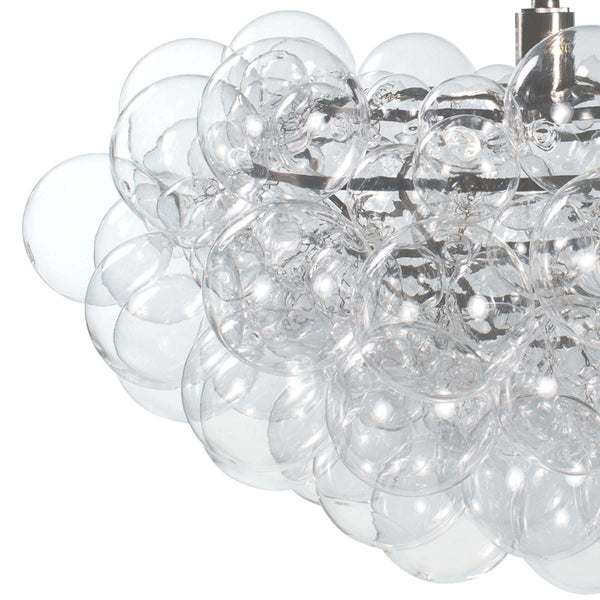 Regina Andrew Small Glass Bubbles Chandelier – Clear
