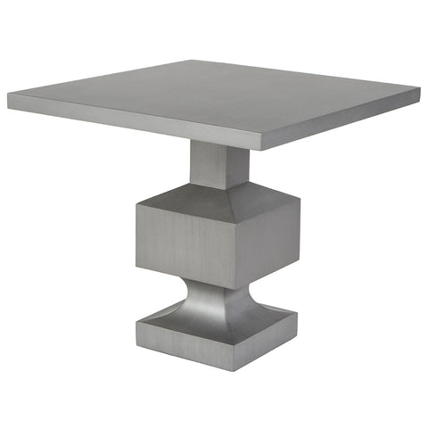 Devon Side Table - Tarnished Silver (23 Finish Options)