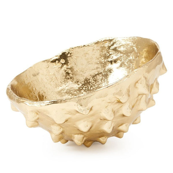 Bungalow 5 Organic Cast Metal Bowl in Polished Brass