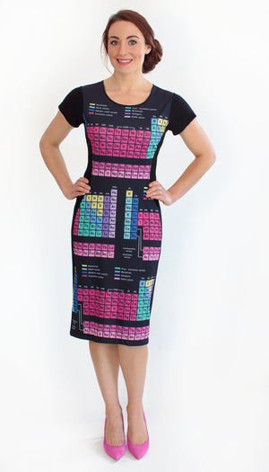 Periodic Table Elements Dress Front