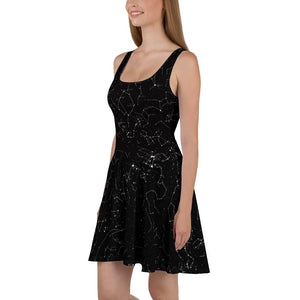 Constellation Skater Dress