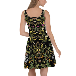 Botanical Dress Back