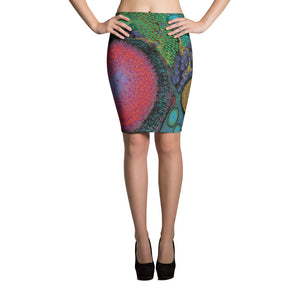 Artificial Intelligence Pencil Skirt