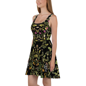 Maria Sibylla Botanical Entomology Dress Side