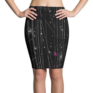 Particle Physics Pencil Skirt