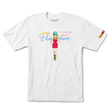 Primitive x Dragon Ball Z Nuevo Bulma Tee / White