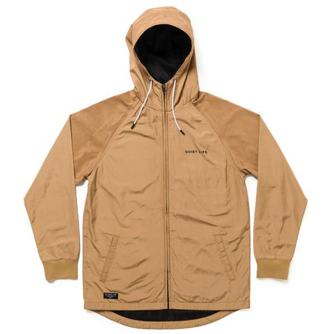 The Quiet Life Hooded Monsoon Jacket  / Camel