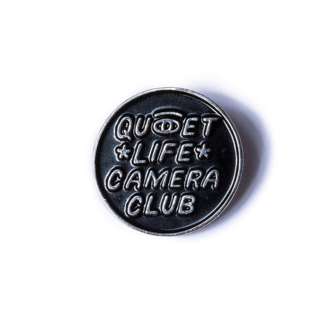 The Quiet Life Camera Eye Lapel Pin