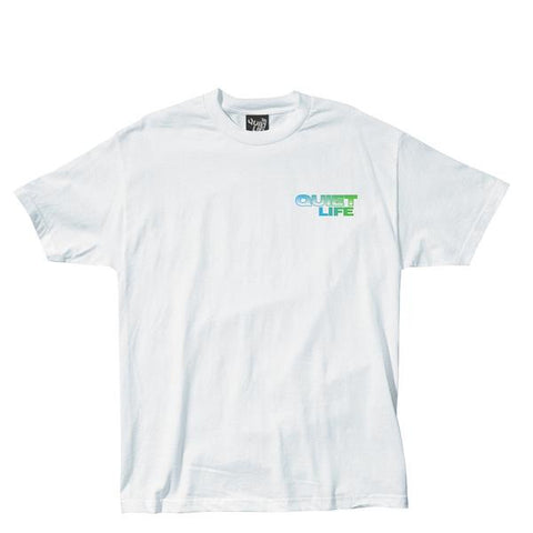 The Quiet Life Stacked Tee / White