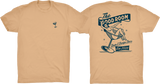 TGR Pin-Up Tee / Tan