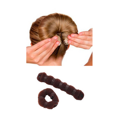 2 pieces Set Hair Styling Bun Maker