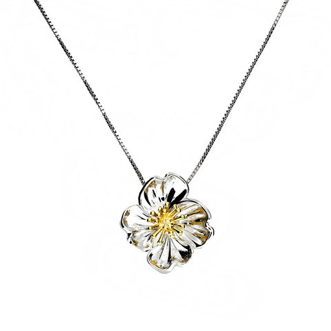 February Primrose Necklace