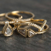 Diamond Double Band - Tiina Smith Jewelry