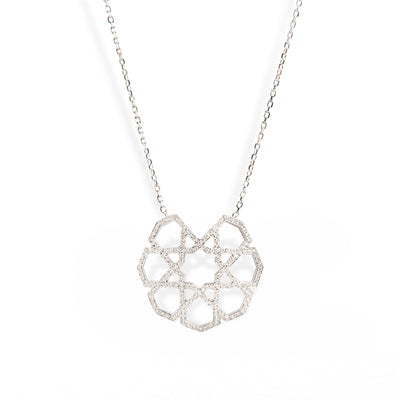 Ralph Masri Arabesque Deco Diamond Pendant