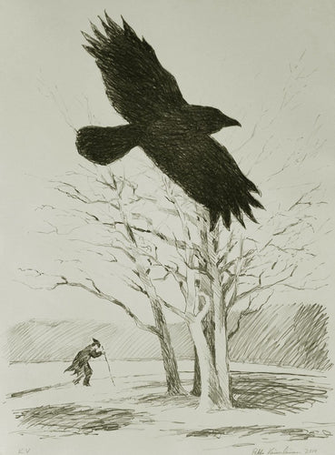 A Crow and A Wanderer