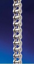 #80NP NICKEL PLATED ROLLER CHAIN 10FT ROLL, CORROSION RESISTANT FREE SHIPPING!