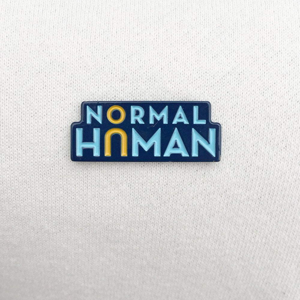 Normal Human Enamel Pin - Numbered Edition