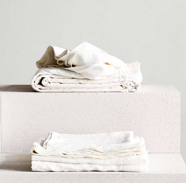 bedouin SOCIETE - Luxury Washed MINERALE Bed Linen