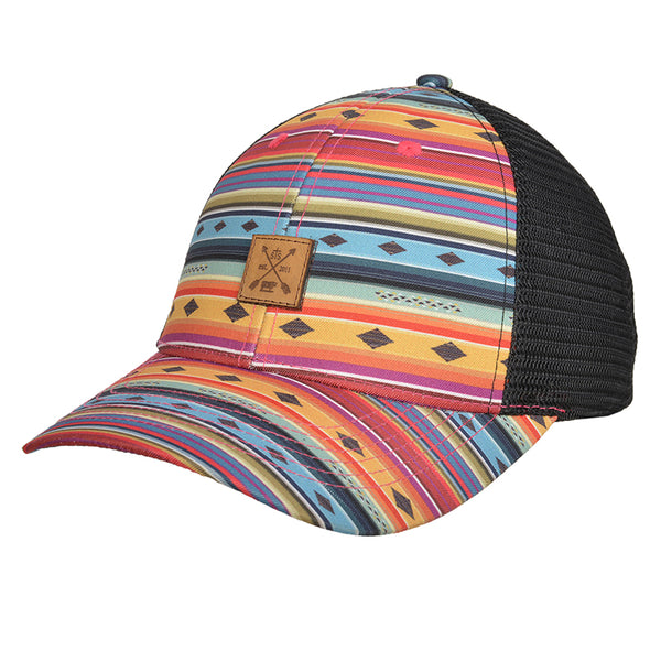 STS Patch Cap - Black & Serape