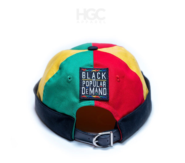 BLACK BY POPULAR DEMAND® Homage Brimless Docker HAT