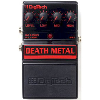 DigiTech DDM Death Metal™ Metal Distortion Pedal