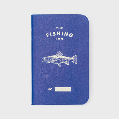 The Fishing Log-Blue
