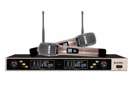 Wireless Microphone UHF 2 Way   Boly BL9000