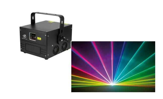 Laser Animation 1.2Watt RGB Pandora Beam Series