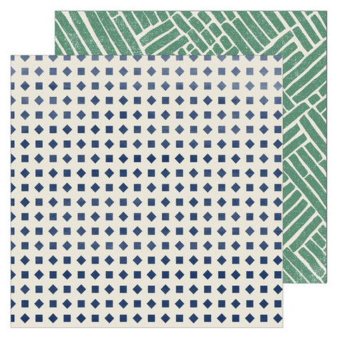 Wisdom 12x12 Pattern Paper - Pinkfresh Studio - Boys Fort