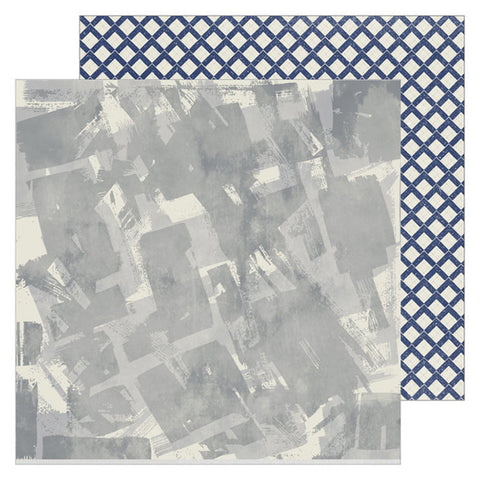 Wowzers 12x12 Pattern Paper - Pinkfresh Studio - Boys Fort