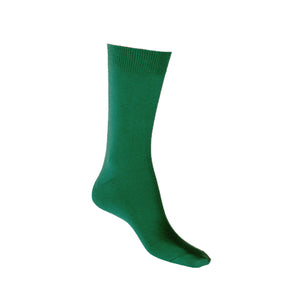 Cotton Soft Socks - Green - Shop Online LAFITTE Australia