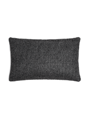 Chevron Pillow Cover - Charcoal