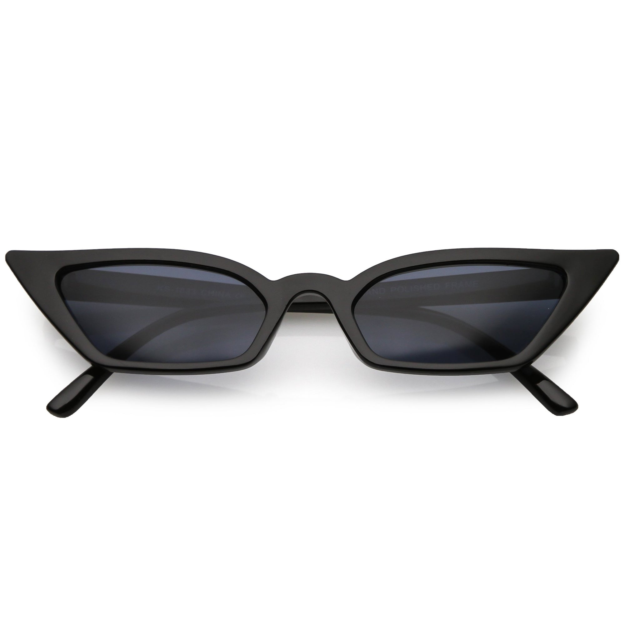Women's 90's Thin Retro Pointed Cat Eye Sunglasses C571