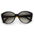 Large Women's Fashion Metal Arm Cat Eye Sunglasses 8689