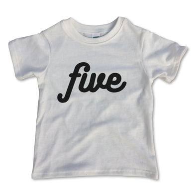 Five Birthday Tee