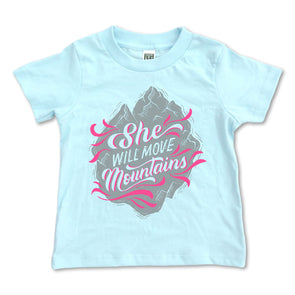 She Will Move Mountains Tee