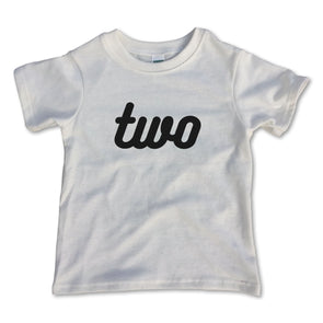 Two Birthday Tee