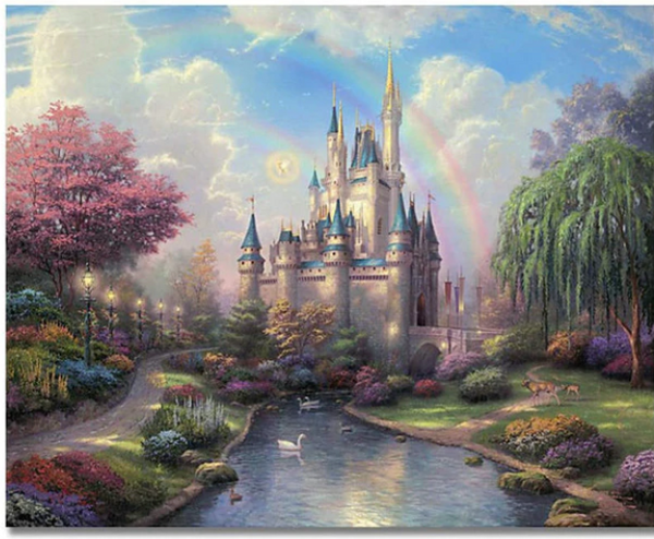 Fantasy Castle - Painting By Numbers
