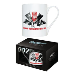 FROM RUSSIA WITH LOVE - BONE CHINA MUG