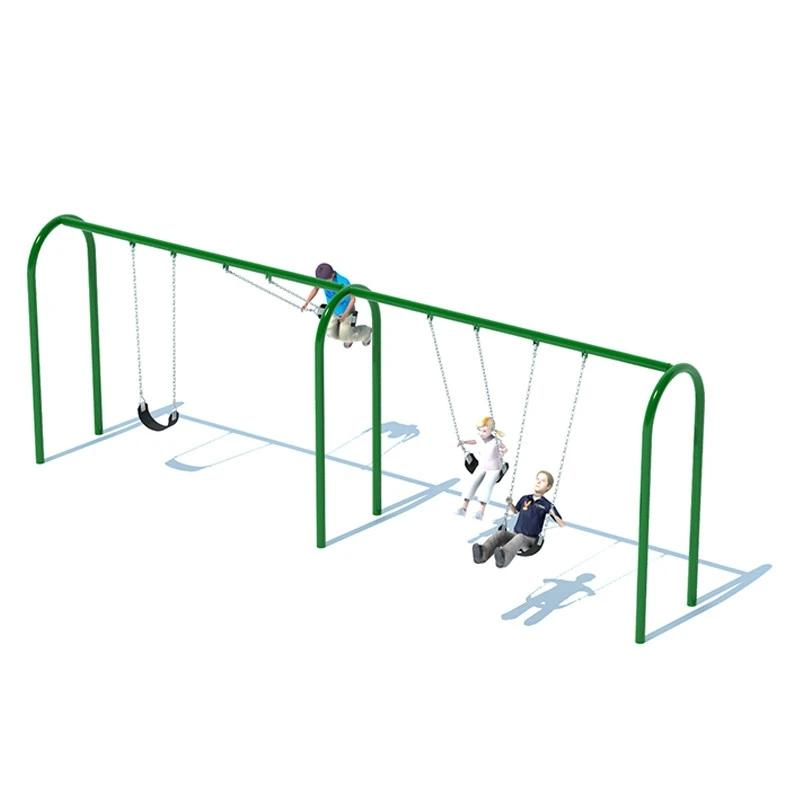 "3.5"" ARCH SWING FRAME (8') - 2 BAY"