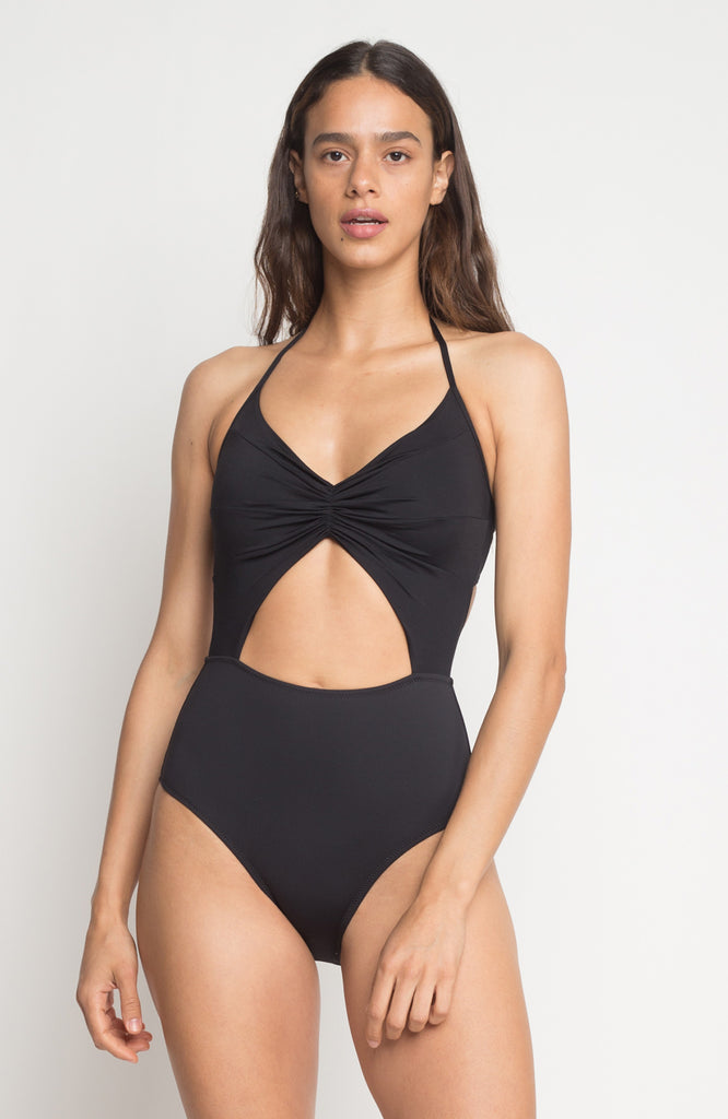 Flora Maillot in Onyx