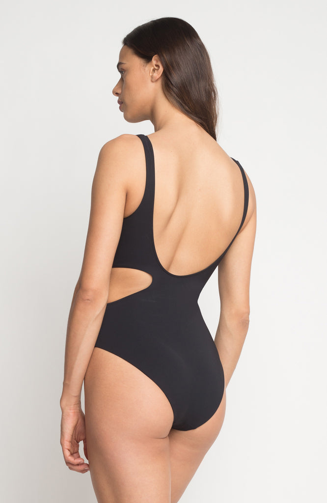 Oceania Maillot in Onyx