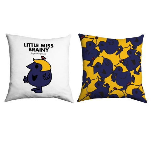 Little Miss Brainy Micro Fibre Cushion