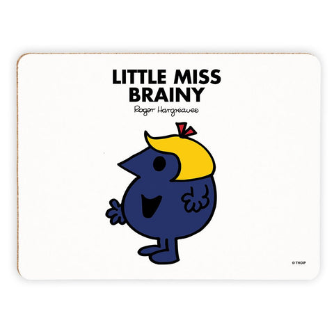 Little Miss Brainy Cork Placemat