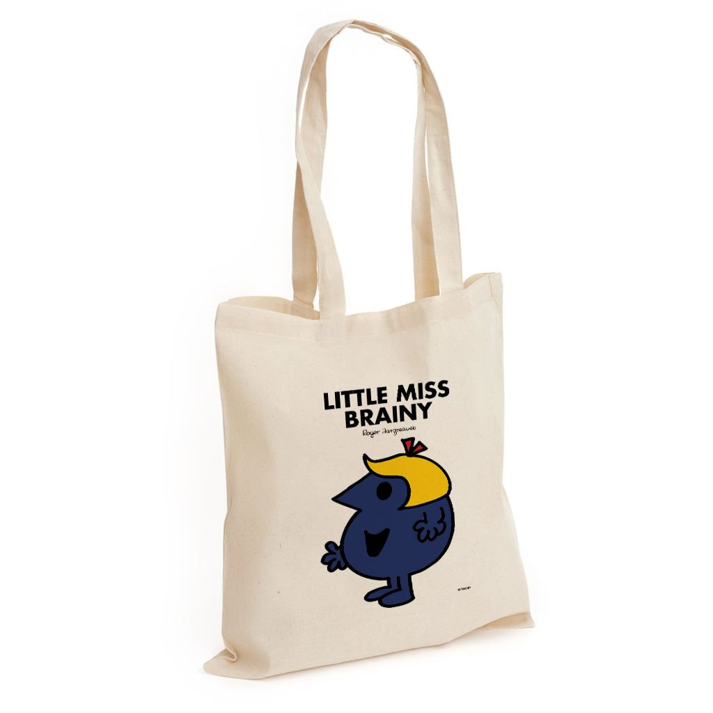 Little Miss Brainy Long Handled Tote Bag