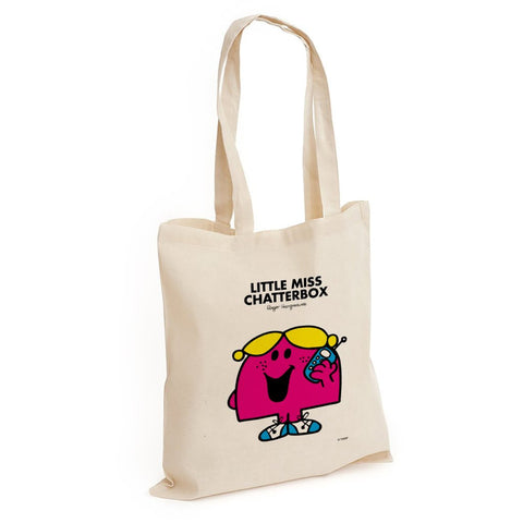 Little Miss Chatterbox Long Handled Tote Bag