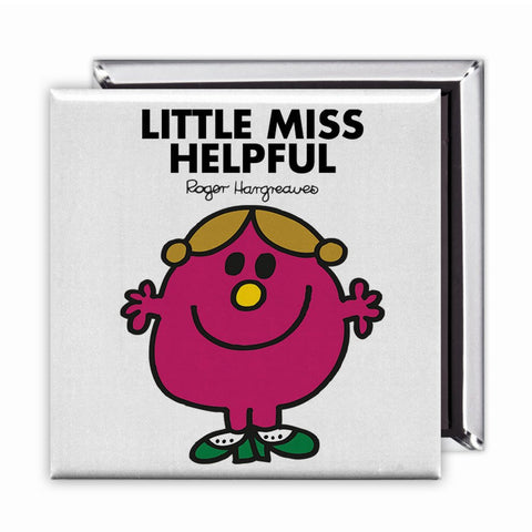 Little Miss Helpful Square Magnet